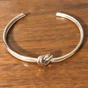 Francescas Gold Knot Bracelet